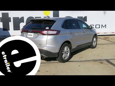 etrailer   Draw-Tite Max-Frame Trailer Hitch Installation - 2018 Ford Edge