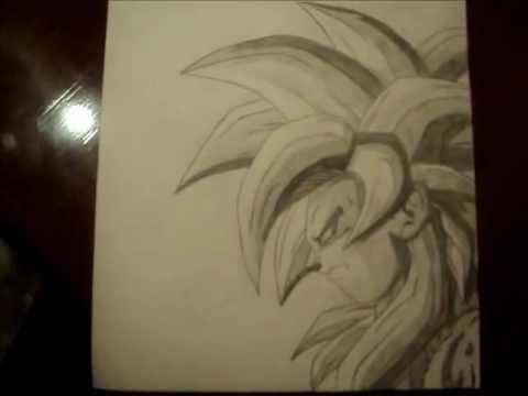 Dragon Ball Z - como dibujar a goku ssj 3 - YouTube