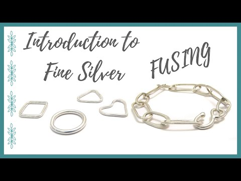 Introduction to Fine Silver Fusing - Beaducation.com