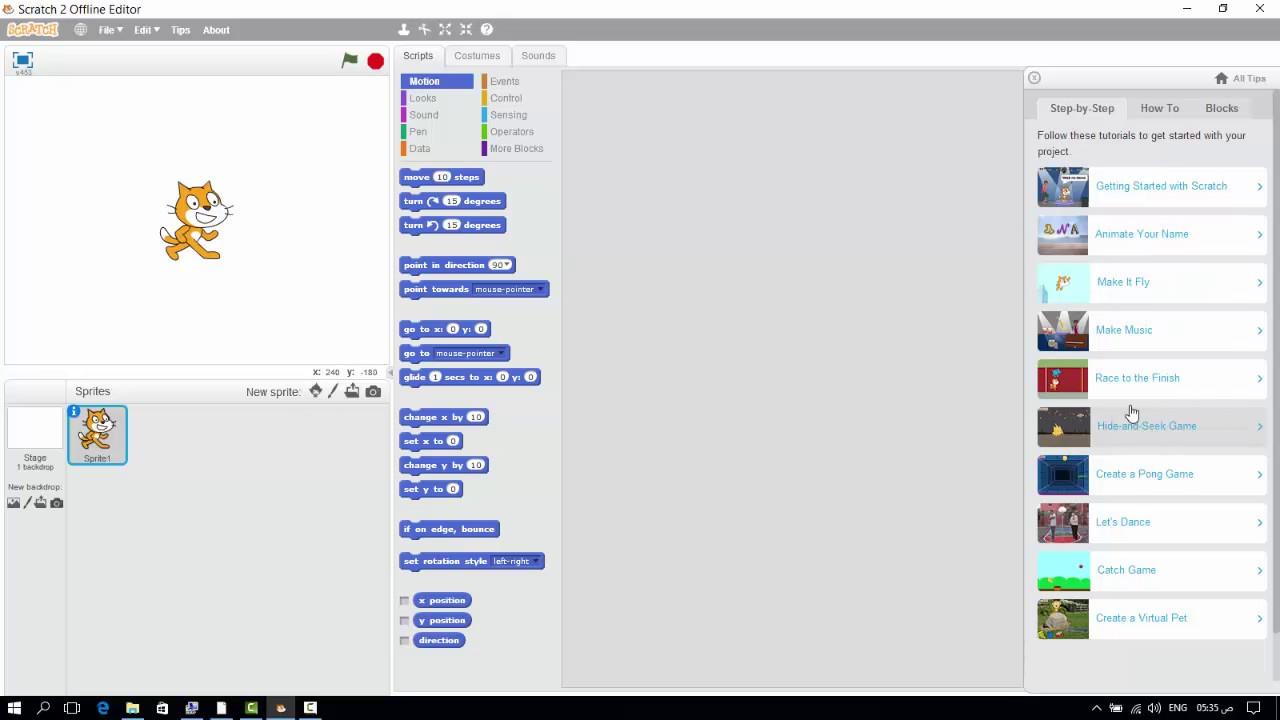 شرح برنامج سكراتش pdf