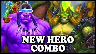 "Grubby | ""New Hero Combo"" | Warcraft 3 | NE vs HU | Amazonia"