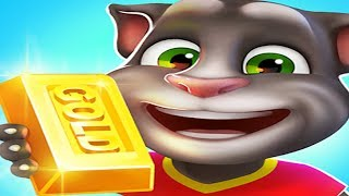 Talking Tom Gold Run Android Gameplay Elf Angela #1