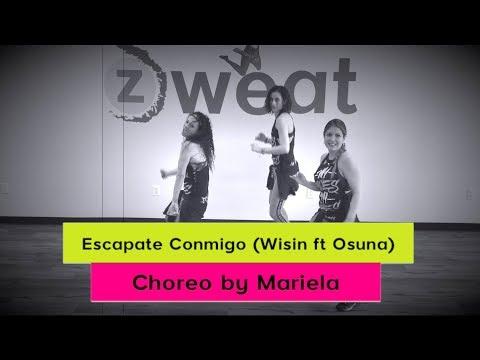 Escápate Conmigo by Wisin | Zumba Choreo by Mariela