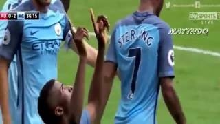 Manchester United Vs Manchester City 1-2 All Goals And Highlights English Premier League 2016/2017