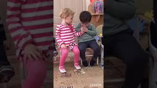 Приколы детей.Любовь с садика.