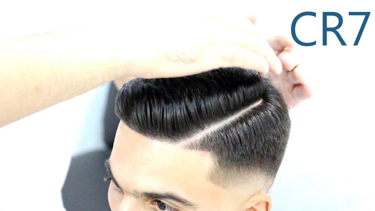 Cristiano Ronaldo Haircut 2019 Stilist Elnar Cristiano Ronaldo