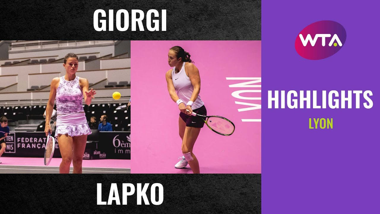 Camila Giorgi vs. Vera Lapko | 2020 Lyon First Round | WTA Highlights