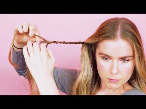 How To Make A Mini Braided Headband | How To: Hair | Real Simple