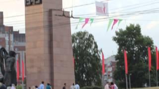 г.Иваново. Вечный огонь. Свадьба 07.06.2014