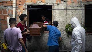 Avec l'accélération du virus au Brésil, le pays pourrait devenir le nouvel épicentre de la pan…