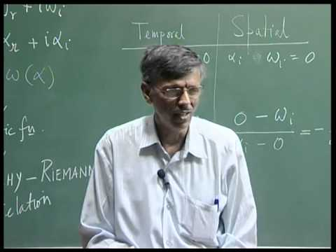 Mod-01 Lec-09 Instability and Transition of Fluid Flows