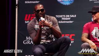 Jon Jones Predicted KO Over Daniel Cormier 3 Years Before UFC 214 - MMA Fighting