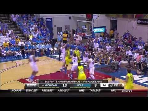 Jon Horford scores five first half baskets