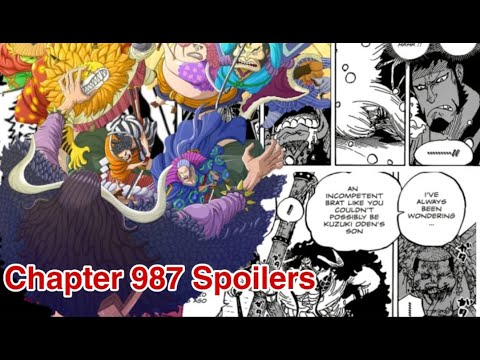 One Piece Chapter 987 Spoilers Release Date Youtube