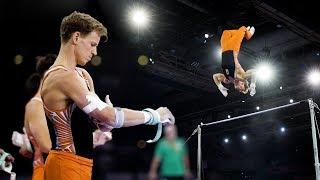 Epke Zonderland (NED) HB 2019 Worlds Stuttgart - Podium Training