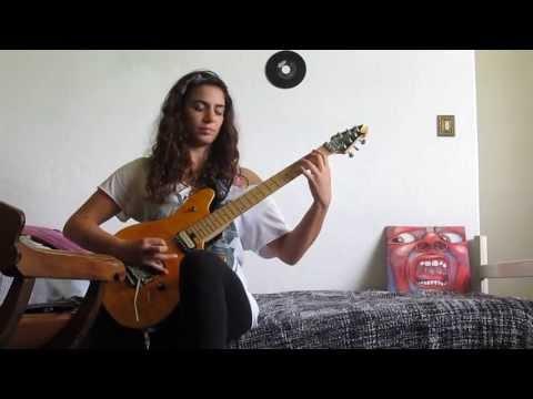 21st Century Schizoid Man guitar cover- King Crimson
