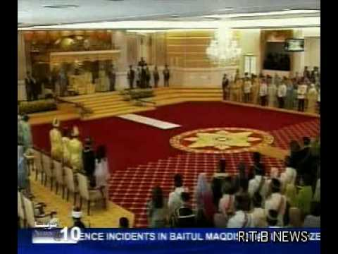Crown Prince consented to attend the Installation ceremony of His Royal Highness Tuanku Muhriz
