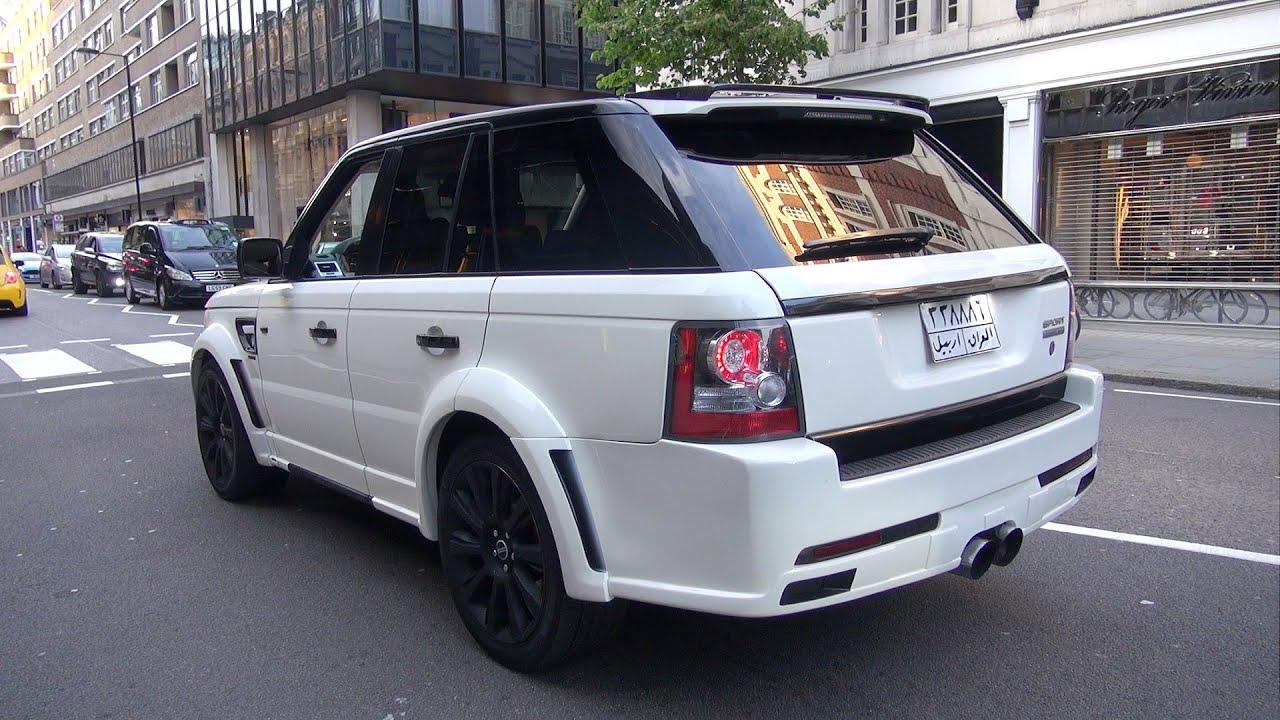 Land Rover Hamann Range Rover Sport Conqueror II CRAZY SOUND