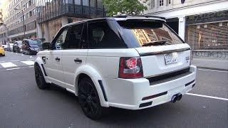 Land Rover Hamann Range Rover Sport Conqueror II - CRAZY SOUND!!