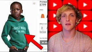 Onko Tämä H&M Tuote Rasistinen? YouTube Vastaa Logan Paul Draamaan!