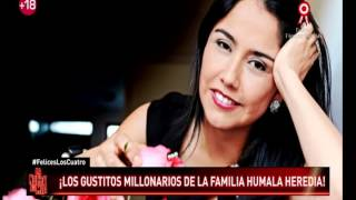 Los gustos millonarios de la familia Humala Heredia thumbnail