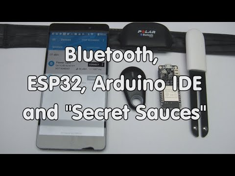#173 ESP32 Bluetooth BLE with  Arduino IDE (Tutorial) and Polar H7