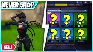 "😨 ""SPINNENRITTER"" Skin Finally in the shop! 🛒 SHOP from TODAY: Glider, Pickaxe, Skins - Fortnite"