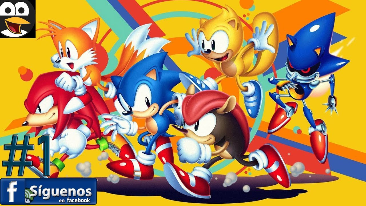 Sonic Mania Plus Gameplay Espanol Videos De Juegos Para Ninos