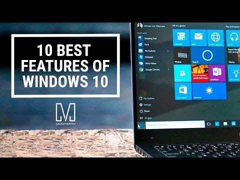 10 Best Features of Windows 10