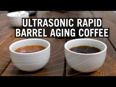 Ultrasonic Rapid Barrel-Aging Coffee - Weird Coffee Science
