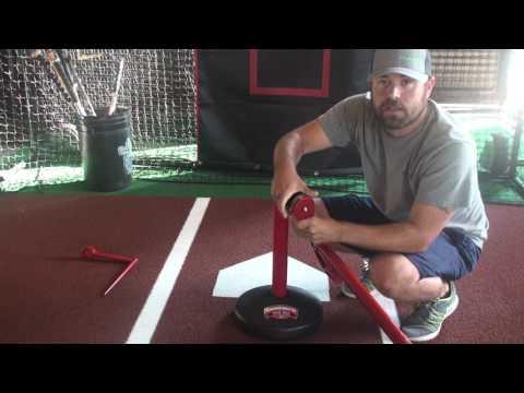 Advanced skills batting tee assembly