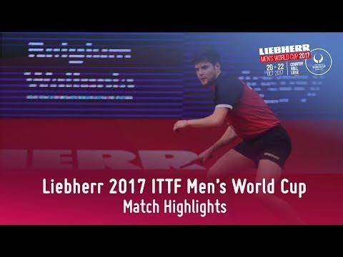 2017 Men's World Cup Highlights I Timo Boll vs Dimitrij Ovtcharov (Final)
