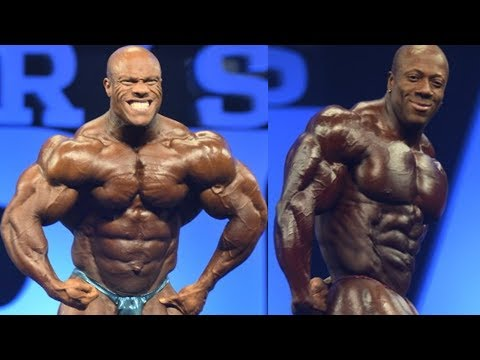 Phil Heath vs. Shawn Rhoden & NPC USA Recap : Heavy Muscle R