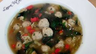 How to make Italian Wedding Soup - Recipe by Laura Vitale - Laura in the Kitchen Ep. 105