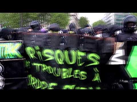Paris 1ere Mai 2018  Black Bloc