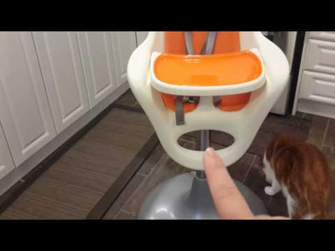 First impressions Boon highchair, baby led weaning
