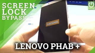 LENOVO Phab HARD RESET - Bypass Pattern by Recovery Mode