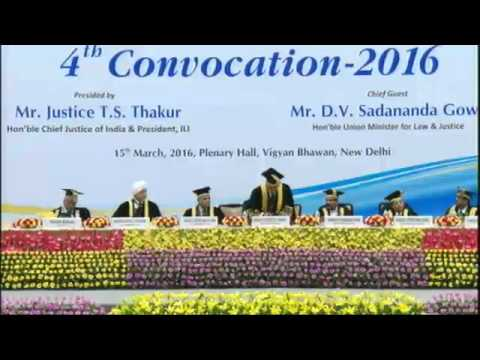 Indian Law Institute Convocation 2016