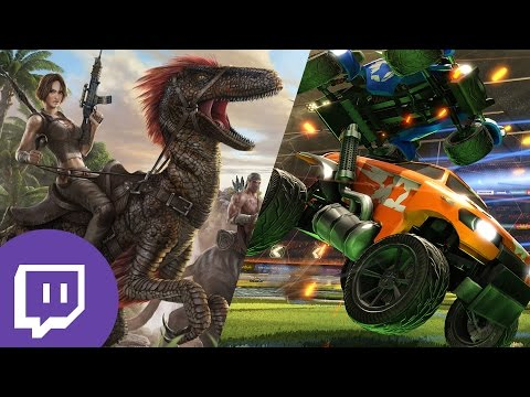 ARK & Rocket League Live! (Twitch Highlights 13th August)