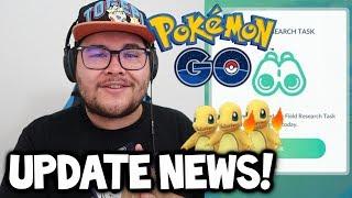 Pokémon GO UPDATE NEWS! - RESEARCH BREAKTHROUGH #3, FIELD RESEARCH UPDATE & COMMUNITY DAY SURVEY?!