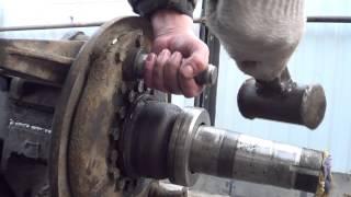 Замена втулок разжимного кулака камаз