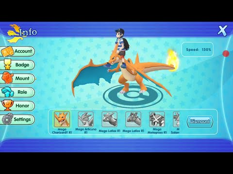 Mega Charizard Y evolution, ride and test!!
