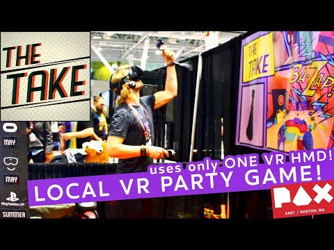 Hide N' Seek Local VR Party Game | THE TAKE - Interview and Gameplay at PAX East 2018