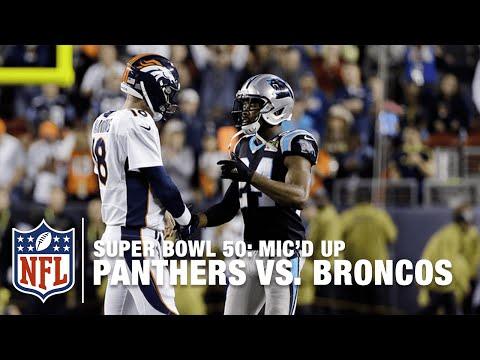 Panthers vs. Broncos: Super Bowl 50 | Second Half Mic'd Up Highlights | Inside the NFL
