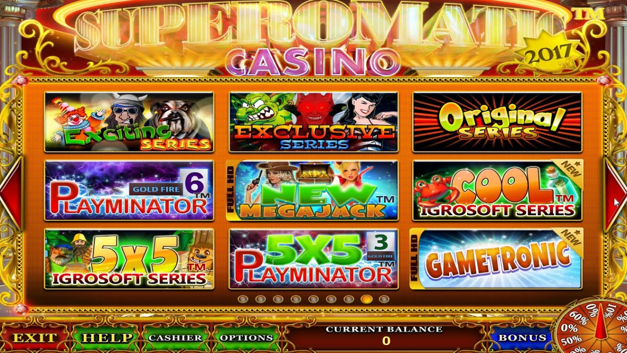 Игровые автоматы суперматик секреты казино супероматик superomatic игровые автоматы адмирал ракушки играть