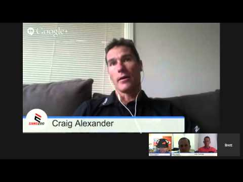 Triathlon Research Live Event - Craig Alexander & Mirinda Carfrae