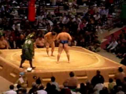 Sumo Wrestling in Japan