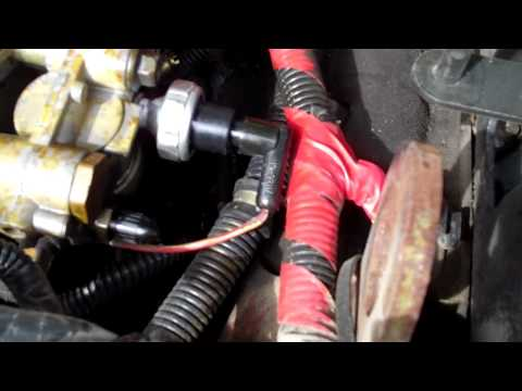 Easy to fix Diesel Fuel leak on Ford 7.3 liter