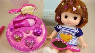 Baby Doll Hair shop sticker & decoration toys
