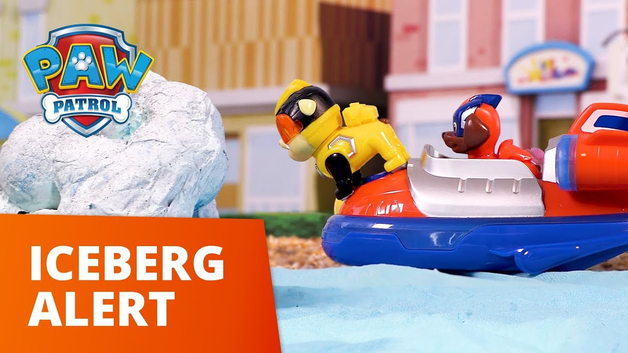 PAW Patrol | Iceberg Alert | Toy Episode | PAW Patrol Official & Friends